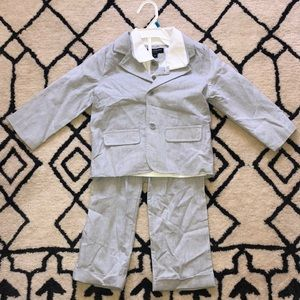 NWOT 3 piece Wendy Bellissimo Baby Boy Suit